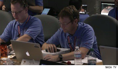 Macs abound at NASA Curiosity mission control