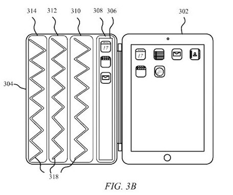 iPad 'Smarter Cover' patent application would add display, controls to cover