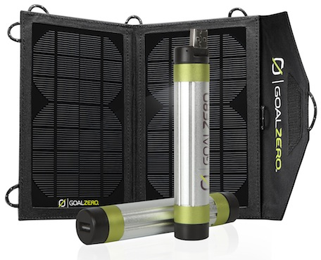 Outdoor solar charger