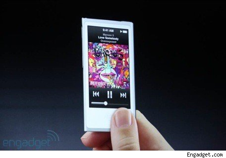 Apple announces new iPod nanos