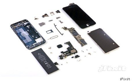 iFixit tears down the iPhone 5