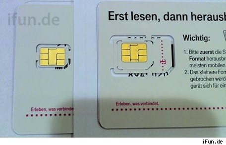 Deutsch Telekom begins distributing nanoSIM cards to partners in advance of rumored iPhone launch