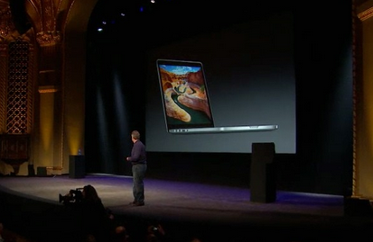 Apple announces a 13inch MacBook Pro with Retina Display