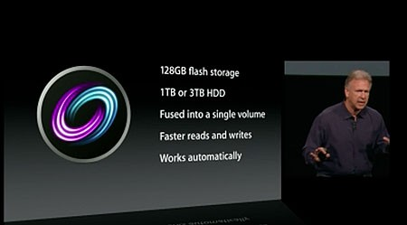 Apple announces Fusion Drive