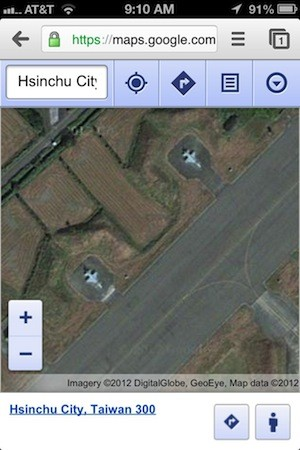 Taiwan asks Apple to obscure radar defense system in iOS 6 Maps