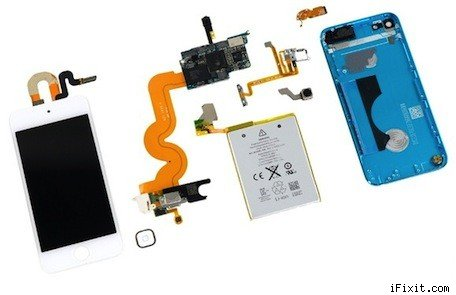 iFixit tears down the 5thgeneration iPod touch