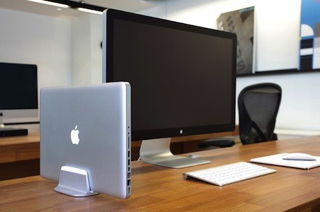 Just Mobile's AluBase and AluRack give your MacBook a new place to live