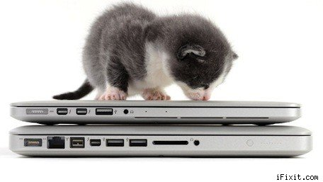 iFixit tears down the 13' Retina MacBook Pro with kittens!