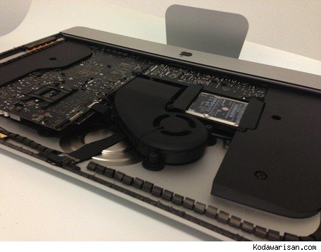 A look inside the new iMac