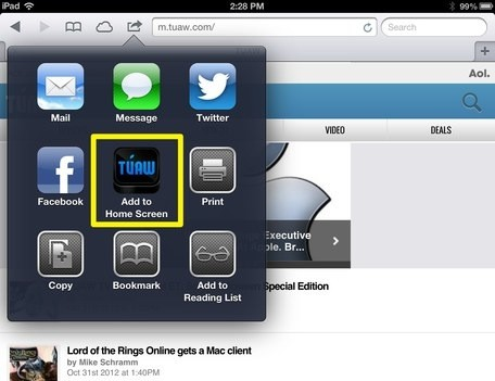 Reading TUAW on your iPhone 5 or iPad or, yes, even another tablet!