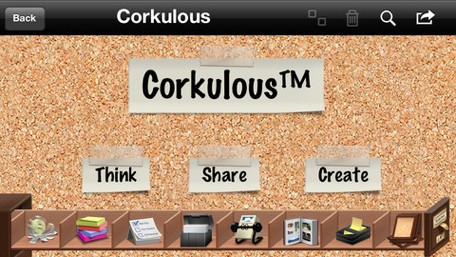Daily iPhone App Corkulous brings the beloved cork board to your iOS device