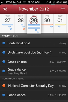 Fantastical for iPhone a fast, goodlooking alternative to Calendar