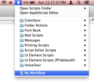 Where Automator Actions and Workflows Live