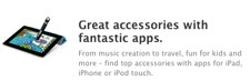 Online Apple Store adds appenabled accessories category