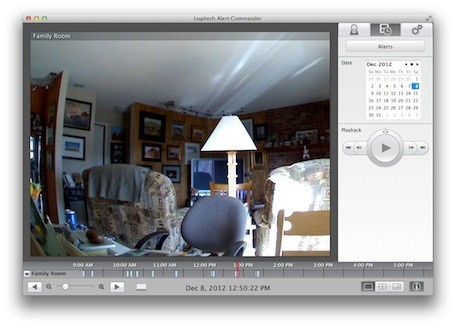 Logitech Alert security camera system works with OS X, iOS