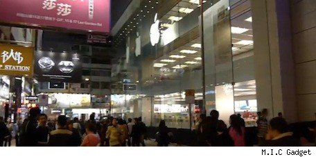 Look inside Apple's 3story Hong Kong store