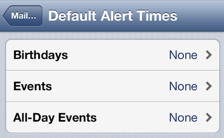 iOS's Notification Center cares more about my contacts' birthdays than I do