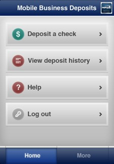 ca Capital One Bank to accept iPhone check deposits