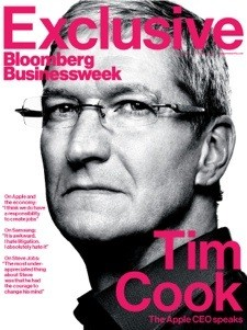 Tim Cook discusses manufacturing, Maps in Bloomberg interview