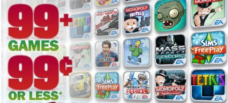 EA launches its big holiday sale, more cheap apps as well