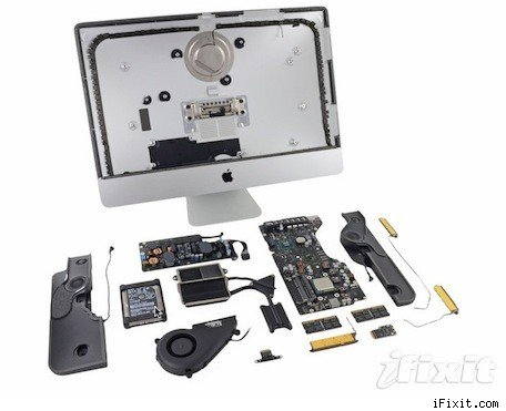 iFixit's teardown of the 215inch iMac