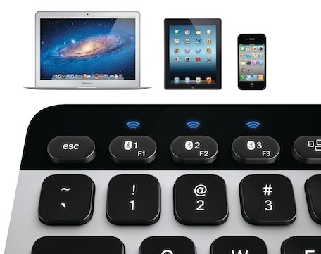 Logitech announces new Bluetooth keyboard, trackpad for Mac