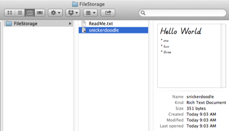 Unclutter offers digital pockets for your OS X miscellany