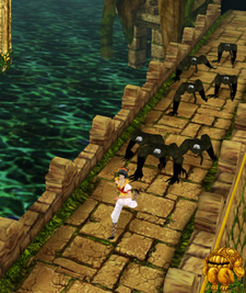 Temple Run was downloaded 25 Million times on Christmas