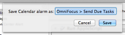 AppleScripting OmniFocus  Send Due Tasks to iTunes