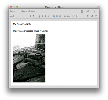AppleScripting Evernote  Embedded Image Scaler