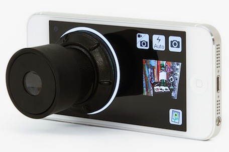 Photojojo takes iPhone photography old school with the Viewfinder