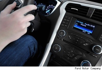 Ford SYNC AppLink ready for incar apps