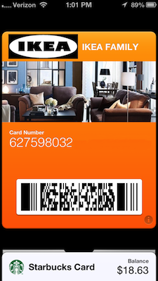 Making your own store loyalty Passbook card with PassKit