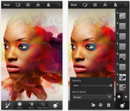 Adobe brings Photoshop Touch to the iPhone