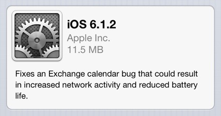 iOS 612 now available