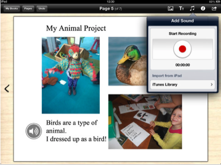 iBook Lessons Book Creator for iPad