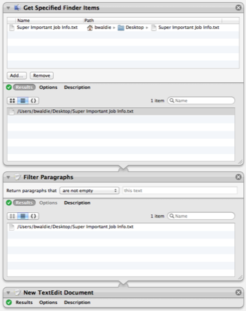 Tips for Troubleshooting Automator Workflows