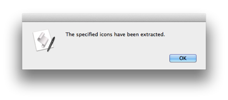 Extract App Resource Icons with AppleScript