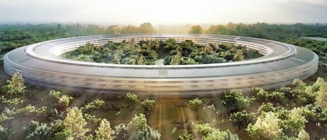 Apple's planned 'spaceship' campus reportedly $2 billion over budget
