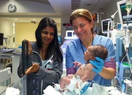 Hospital uses iPads to facilitate interactions between Moms and newborns