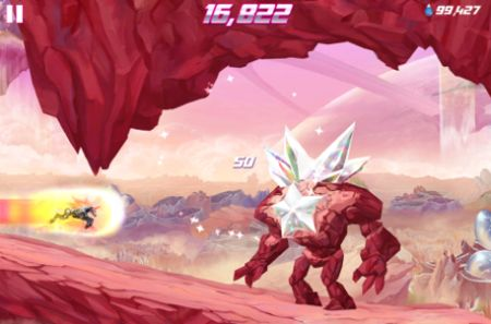 Daily iPhone App Robot Unicorn Attack 2