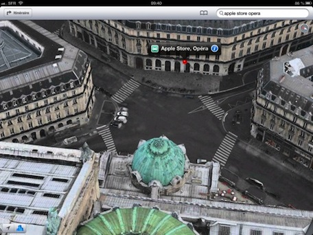 Apple adds 3D Maps Flyover coverage to Paris and surrounding areas