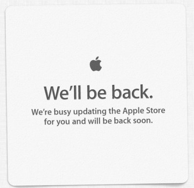 Apple Store is down (Updated) | TUAW - The Unofficial Apple Weblog