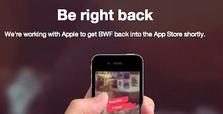 Apple removes 'Bang With Friends' from the App Store