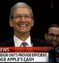 Some comic relief from Apple's congressional appearance