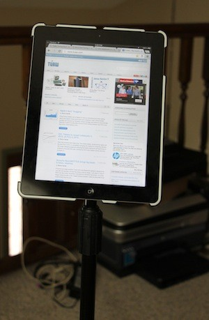 Newer Technology's GripBase Podium is perfect for handsfree iPad use