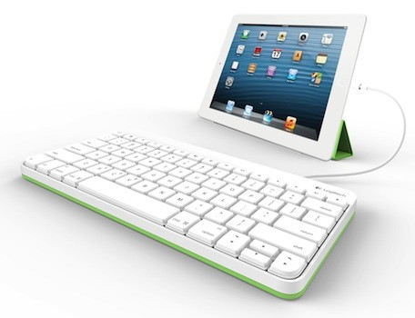 Logitech intros wired iPad keyboard especially for education market