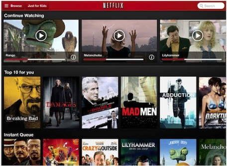 Netflix for iOS update adds autoplay for TV shows along with movie recommendations