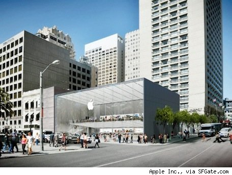 Apple to relocate flagship store in San Francisco