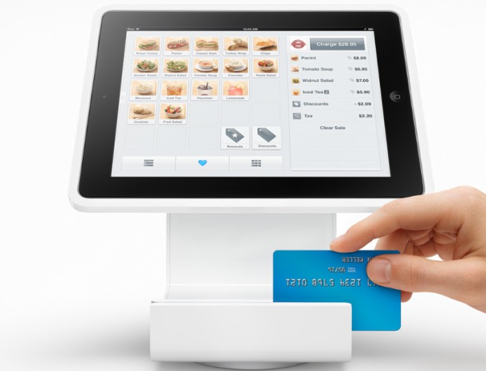 square stand reader Square Stand: Point of Sale Cash Register for Ipad
